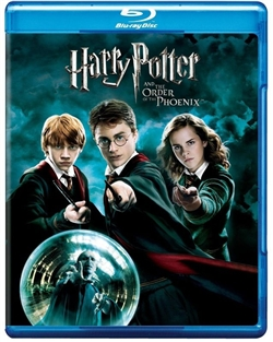 harry potter 5 and the order of the phoenix bluray rental