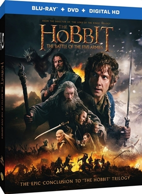 hobbit the battle of the five armies bluray rental