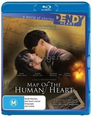 map of the human heart bluray rental